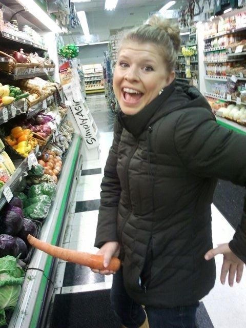 dinner carrot penis