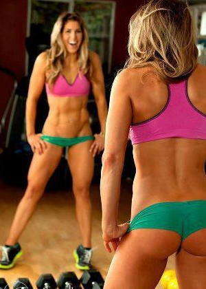 gym girls vagina