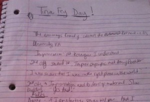 tina day 2